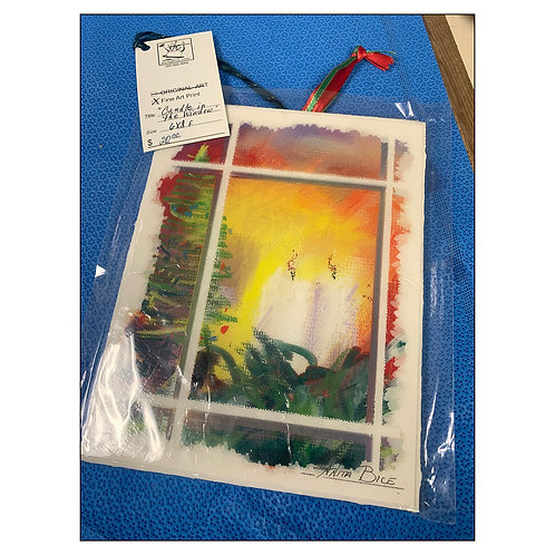 """FlashSale - """"Christmas - Candles in Window_6x8x.25"""""""