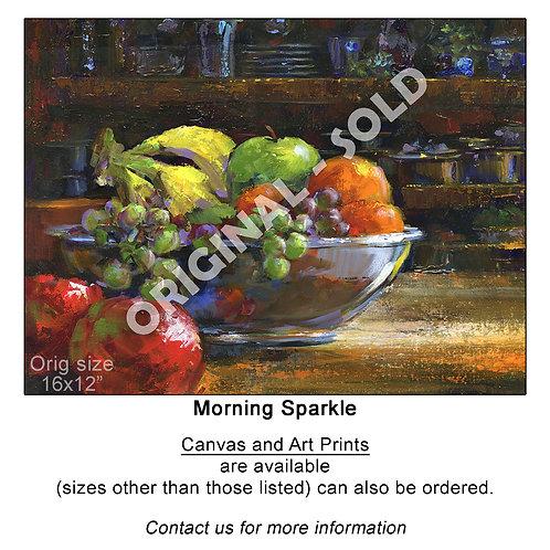 """Morning Sparkle - print"""