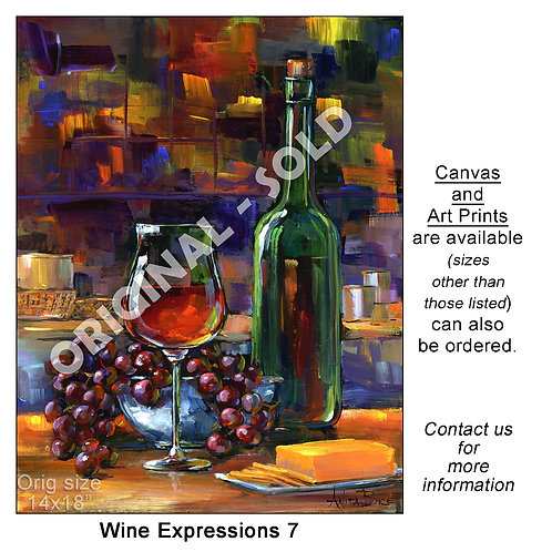 """Wine Expressions 7 - print"""