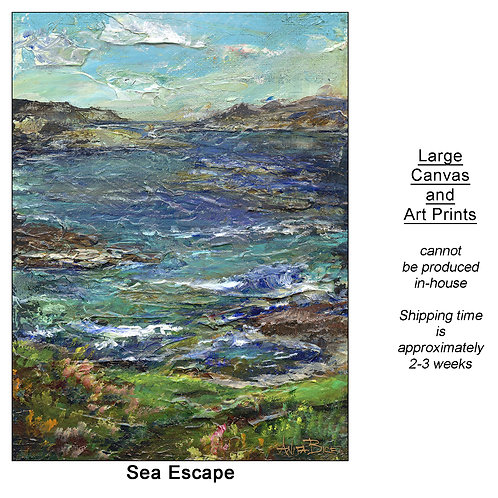 """Sea Escape_large prints"""