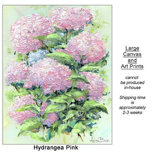 """Hydrangea Pink_large prints"""
