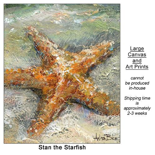 """Stan the Starfish_large prints"""