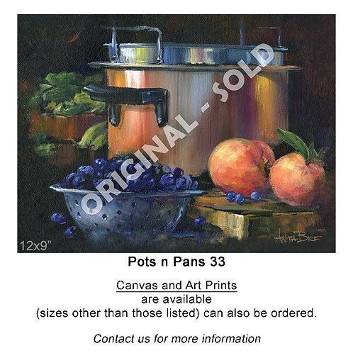 """Pots n Pans 33 - print"""
