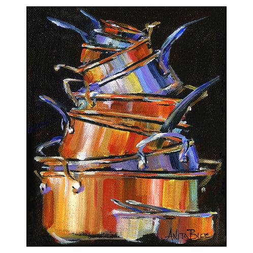 """Pots and Pans 64"""