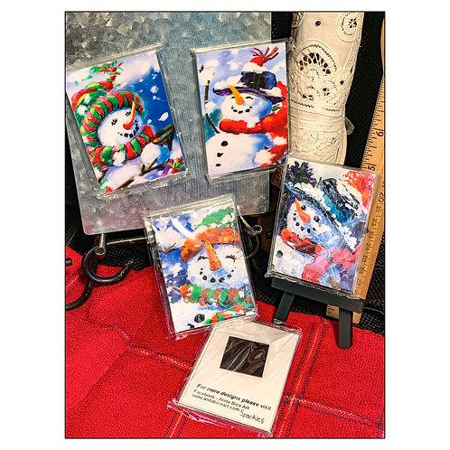 MiniArtPrints-Snowmen_magnets