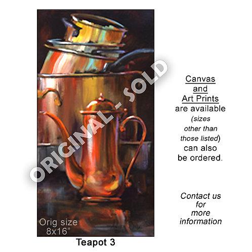 """""""Teapot 3 - print"""""""