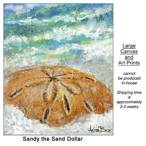"""Sandy the SandDollar_large prints"""