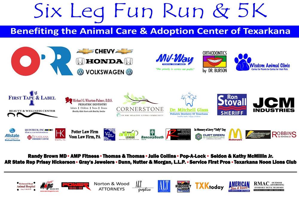 2016 Six Leg Fun Run