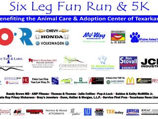 2016 Six Leg Fun Run Sponsors