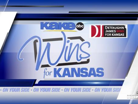 Wins for Kansas