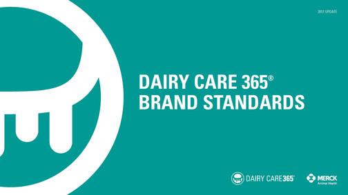 Dairy Care 365 Brand Standards