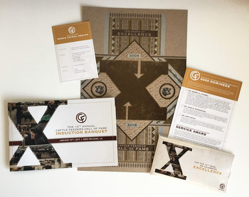Cattle Feeders Hall of Fame Printed Materials