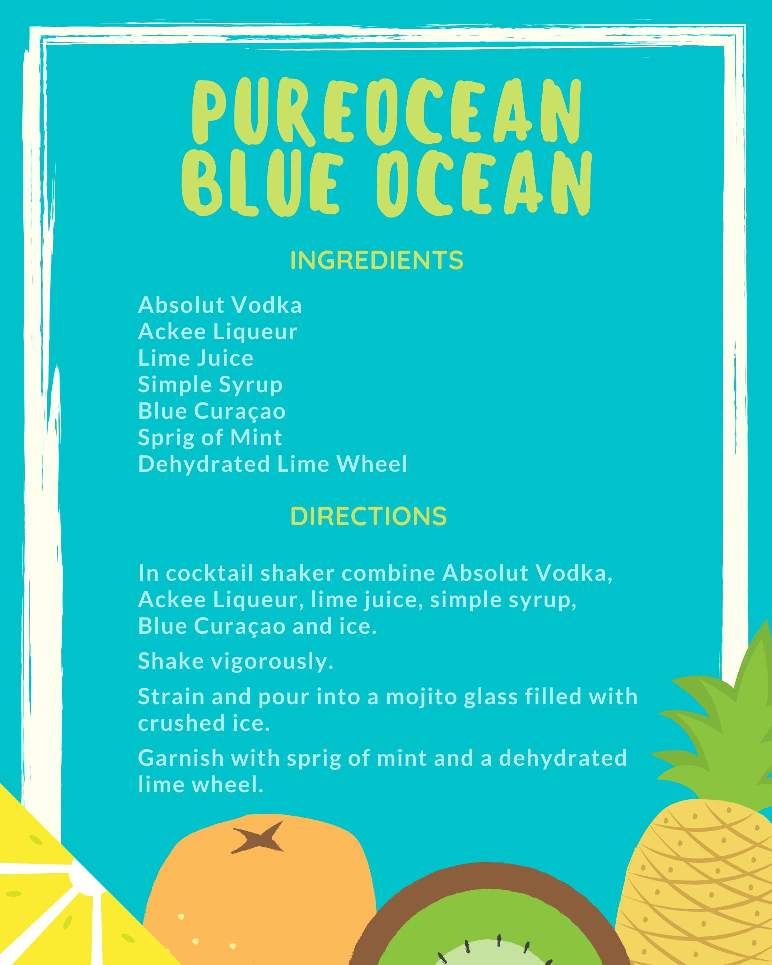 Pureocean Blue Ocean