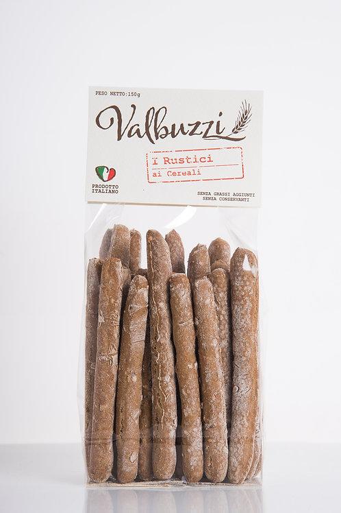 VALBUZZI - grissini I Rustici ai cereali
