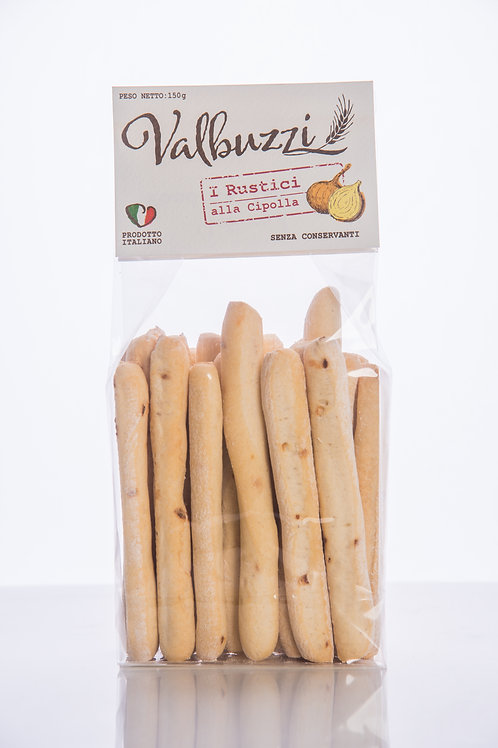 VALBUZZI - grissini I Rustici alla cipolla