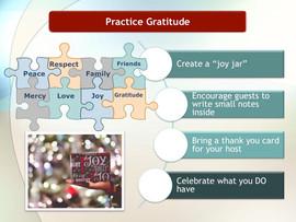 Tip # 5: Practice Gratitude