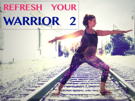5 Ways to Refresh your Warrior 2 - Featured in Yogi Approved