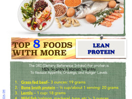 Top 8 Foods with Protein