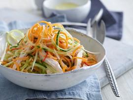 Sweet Chili Thai Cucumber and Jicama Salad