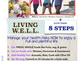 8 Steps to Living WELL