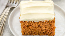 Teff Pumpkin Spice Bread with Cream Cheese Frosting