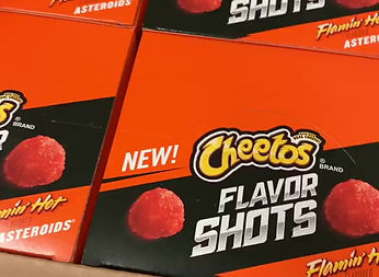 Hot Cheeto Astroids have arrived!