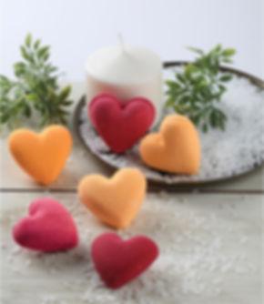 פצצות אמבטיה - לבבות