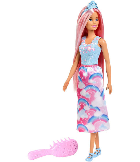 ברבי בשמלה פרחונית