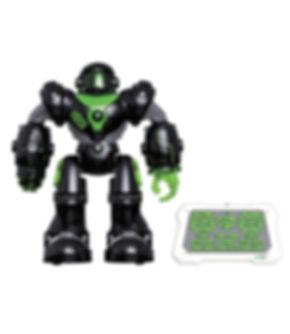 רובוט שוטר יורה חיצים עם שלט וחיבור USB
