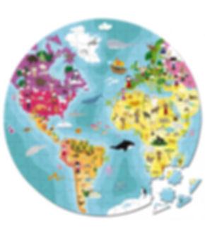 פאזל 208 חלקים - כדור הארץ