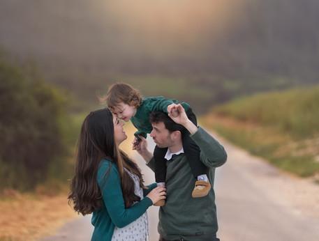 משפחה בטבע