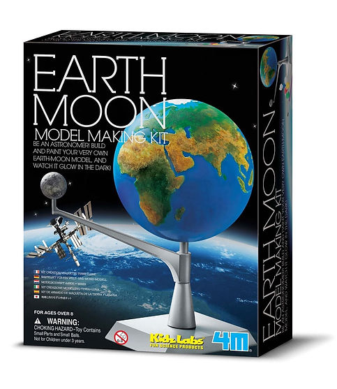 מודל כדור הארץ והירח