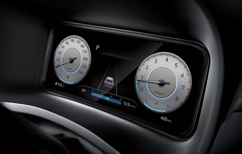 "SVC - לוח שעונים דיגיטלי מלא ""10.25*"