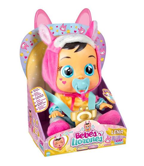 """קריי בייביז - בובת תינוק בוכה עם דמעות """"אמיתיות""""-לנה"""