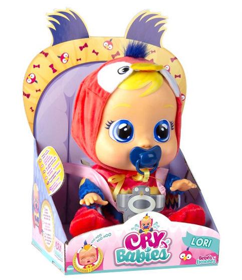 """קריי בייביז - בובת תינוק בוכה עם דמעות """"אמיתיות""""-לורי"""