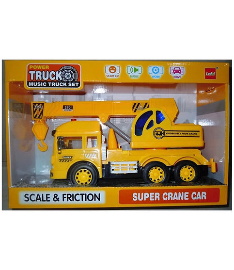 """משאית מנוף 32 ס""""מ אלקטרונית"""
