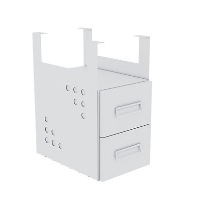 Drawers on Table.