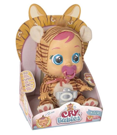 """קריי בייביז - בובת תינוק בוכה עם דמעות """"אמיתיות""""-נלה"""