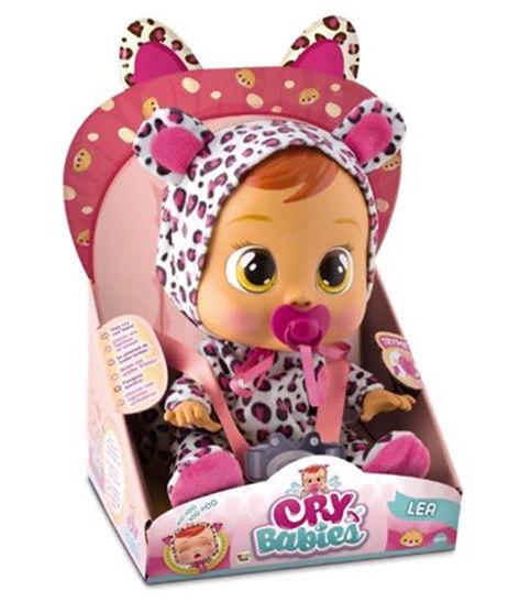 """קריי בייביז - בובת תינוק בוכה עם דמעות """"אמיתיות""""-ליה"""
