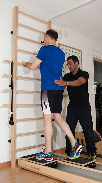 man doing CoreAlign® Excercise
