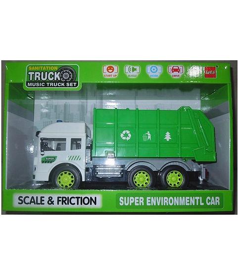 """משאית זבל 32 ס""""מ אלקטרונית"""