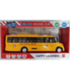 אוטובוס אמריקאי קולות ואורות