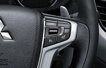 בקרת שיוט CRUISE CONTROL ומגביל מהירות הנשלטים מגלגל ההגה**