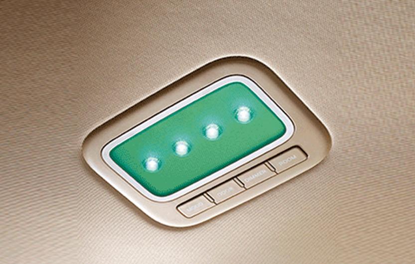 תאורת תא הנוסעים