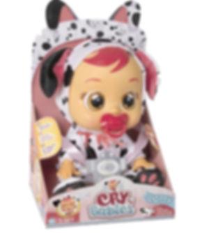 """קריי בייביז - בובת תינוק בוכה עם דמעות """"אמיתיות""""-דוטי"""