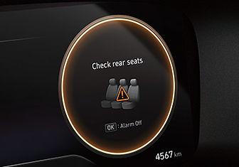 מערכת אקטיבית המתריעה על שיכחת ילד/ נוסע במושב האחורי (ROAֿ)