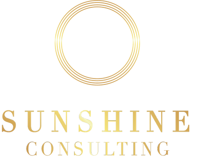 Sunshine Consulting Business Logo