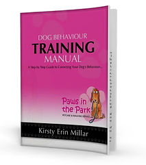 Paws in the Park Dog Behaviour Training Manual Book