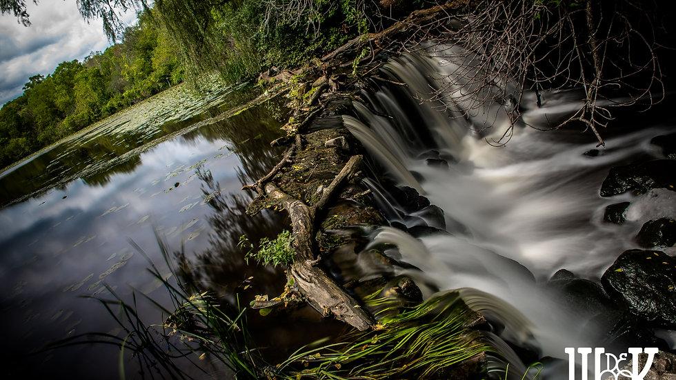 "Chasing Waterfalls 09.08.18 (10""x15"" Paper)"