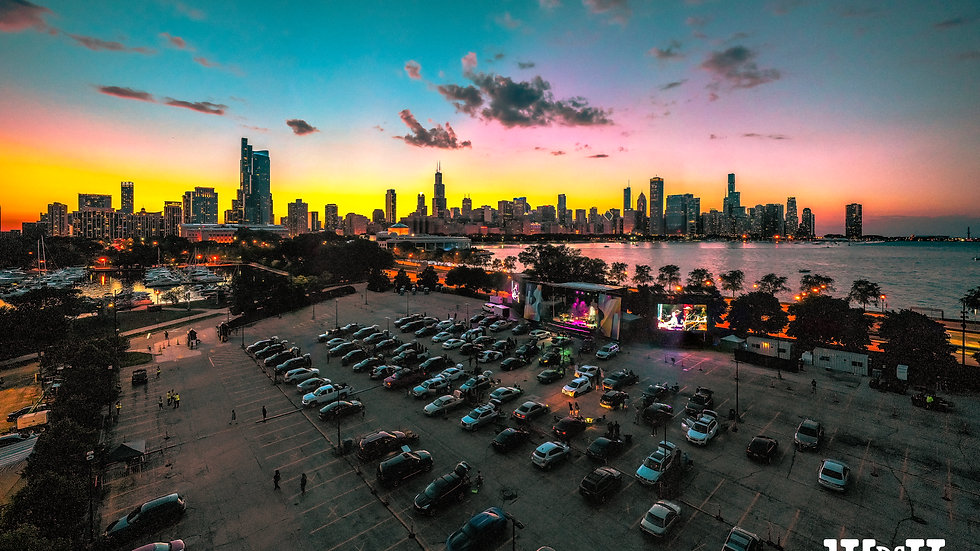 "Mungion - Live @ Lakeshore Drive Inn Chicago 08.16.20 ( 9""x12"" Paper)"